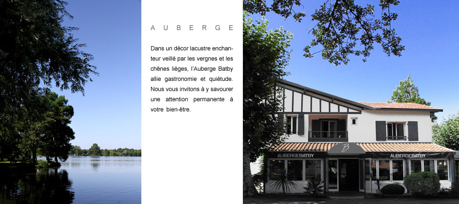 Auberge batby a soustons h tels 3 toiles for Restaurant soustons