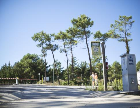 Aire de campings cars St Girons Plage