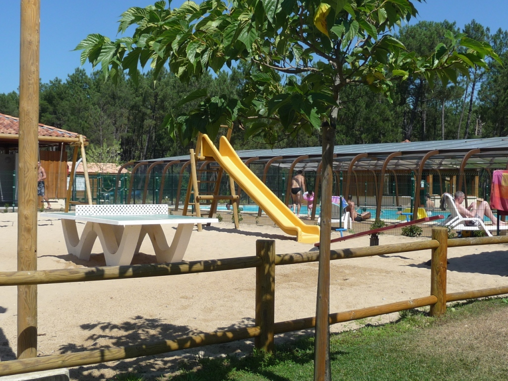 Camping landes oc anes a saint michel escalus campings 4 for Camping mont saint michel piscine couverte