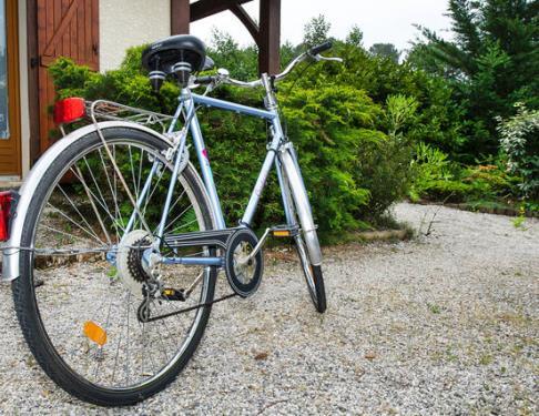 Vélos avec siège enfant, casques et anti-vols