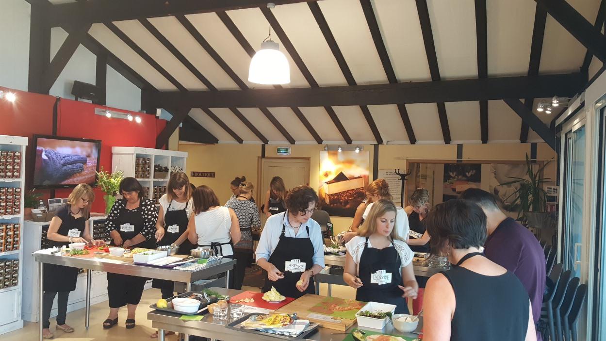 Labeyrie la boutique et son atelier culinaire