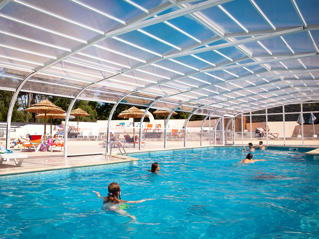 Camping le boudigau a labenne ocean campings 4 toiles for Camping noirmoutier piscine couverte