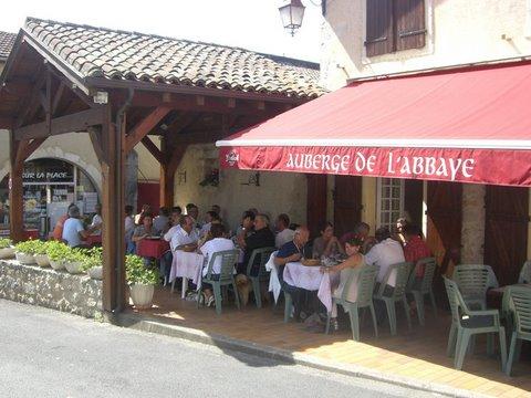 Auberge de l'Abbaye-Terrasse_Sorde