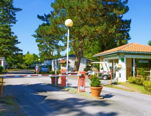 Camping Landes Azur accueil