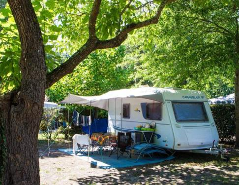 Camping Landes Azur emplacement