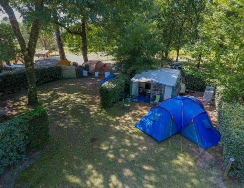 Camping Landes Azur emplacement2