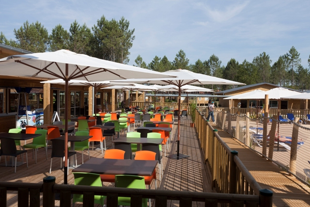 Camping sandaya soustons village a soustons campings 5 for Restaurant soustons