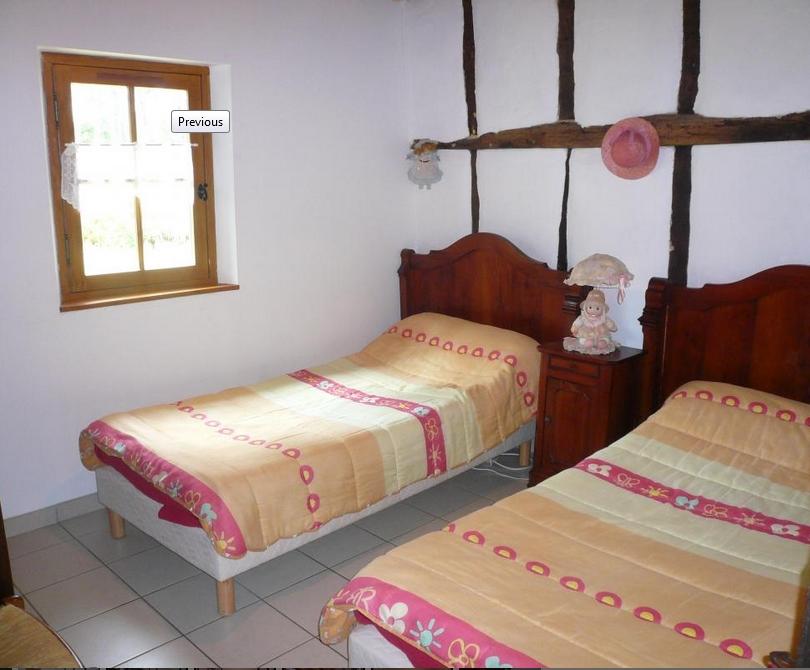 Gîte Sabres le Peyricat Chambre2 lits