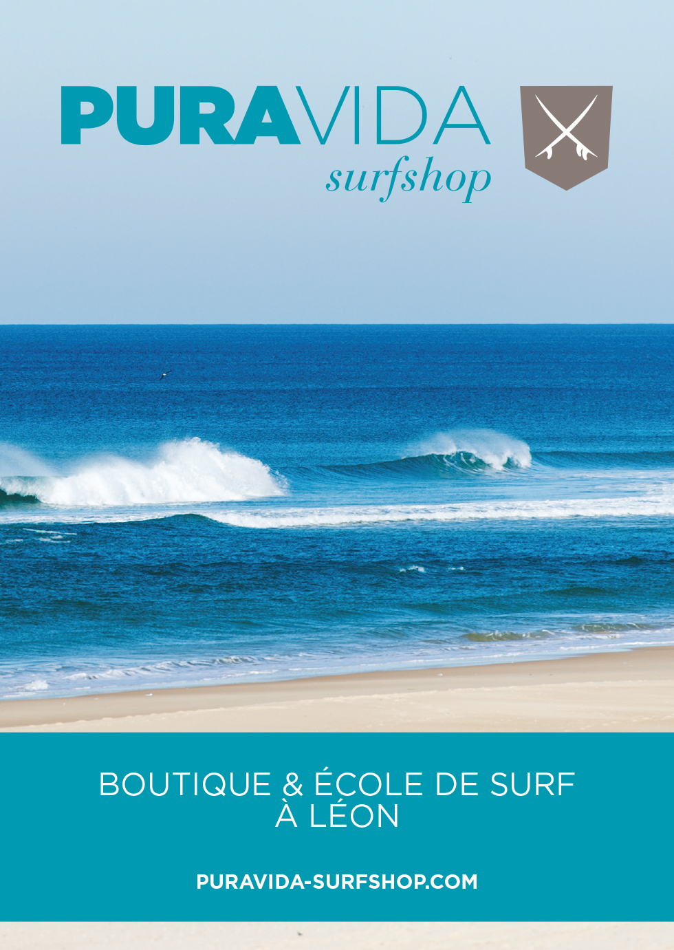 Pura vida surf shop et surf school a leon activit s for Pura vida pdf