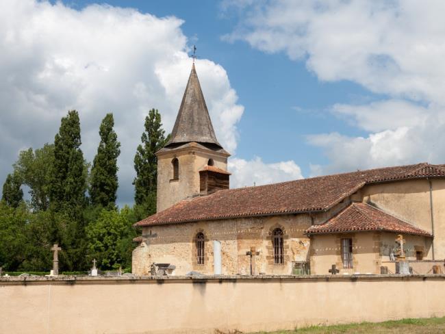 Pujo le Plan - Eglise saint martin (2)