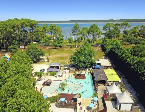 Camping camp ole le lac a sanguinet campings 3 toiles for Camping lac aiguebelette avec piscine