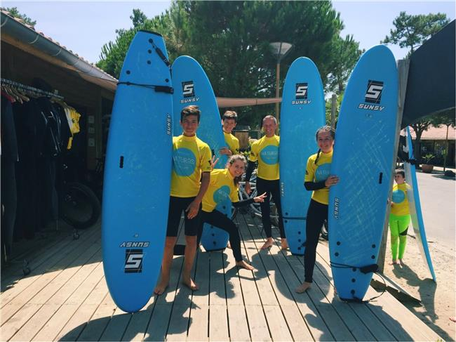 Natureo surf camp 2017